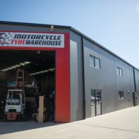 commercial painting in Brendale of motorcycle tyre warehouse