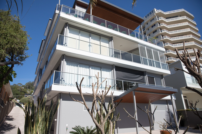 burleigh heads gold coast body corporate exterior painting